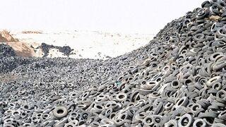 Más de 36.000 toneladas de NFU, a la espera de su reciclaje en Galicia