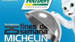 Feu Vert regala fines de semana 'Michelin' con los neumáticos de la marca
