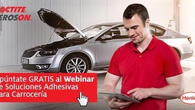 Seminario online sobre soluciones adhesivas para carrocería