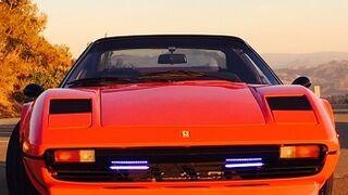 Un taller transforma un Ferrari 308 GTS de 1970 en un eléctrico