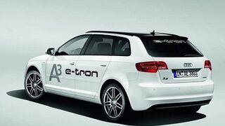 Un Audi eléctrico al año, a partir de 2018
