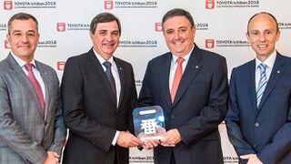 Tres concesionarios españoles, premiados por Toyota por sus clientes satisfechos