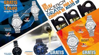 Dipart regala relojes Viceroy por la compra de aceites DP
