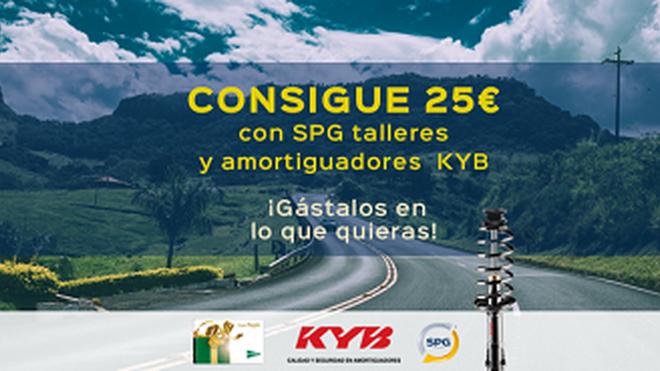 SPG regala 25 € por cambiar los 4 amortiguadores