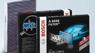 Filter+, nuevo filtro para el habitáculo de Bosch