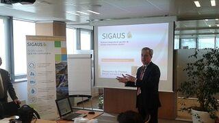 Sigaus defiende su nueva financiación y garantiza la recogida gratis del aceite usado