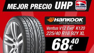 Neumáticos Soledad, el mejor precio en neumáticos UHP Hankook