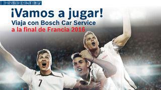 Bosch Car Service acerca a sus clientes a la Eurocopa 2016