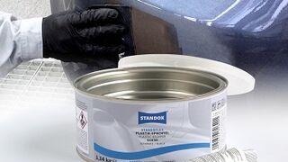 Standox lanza una nueva masilla de poliéster Standoflex para piezas plásticas