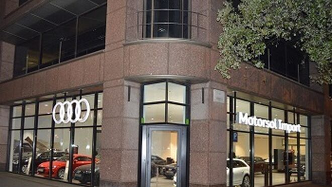 Audi Motorsol abre un nuevo concesionario en Barcelona