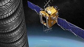 Todos los neumáticos gestionados por TNU alcanzarían apilados el satélite Odyssey