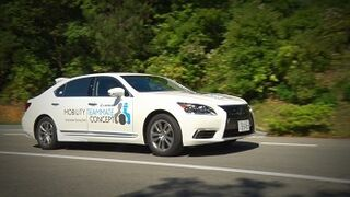 Toyota presenta su coche autónomo con asistencia para ciudad