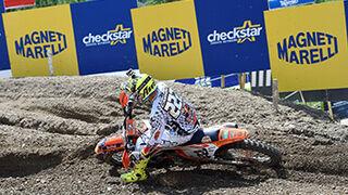 Magneti Marelli Checkstar, patrocinador del Mundial de Motocross