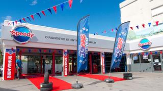 Bridgestone compra la red Speedy en Francia