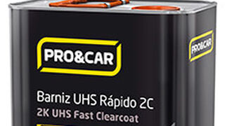 Pro&Car incorpora el Barniz UHS Rápido 2C a su oferta