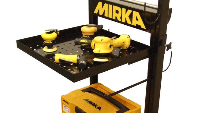 Estación de Trabajo Mirka para el proceso de pulido y faros