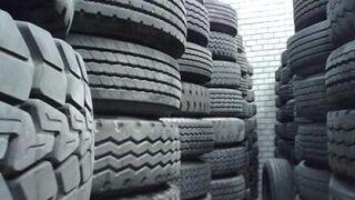 España produce unas 300.000 toneladas al año de neumáticos usados