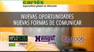 Filtros Cartés, nuevas oportunidades y formas de comunicar
