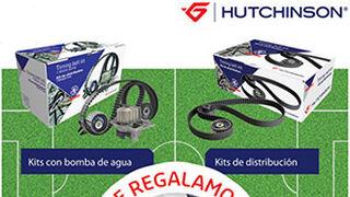 Grovisa regala el balón oficial de la Eurocopa por adquirir productos Hutchinson