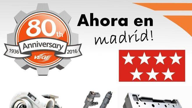 Vege abre delegación en Madrid