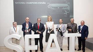 Seat premia a sus mejores concesionarios en España