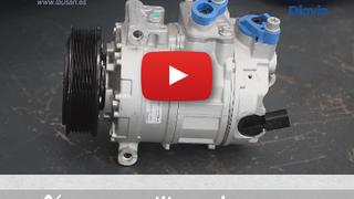 ¿Cómo se sustituye el compresor del aire acondicionado?