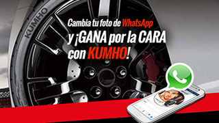 Kumho Tyre crea una campaña para WhatsApp