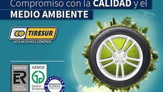 Tiresur renueva sus certificados de Aenor de calidad y medioambiental
