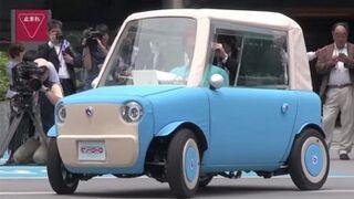 RimOno, carrocería de tela para un coche eléctrico
