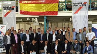 Spies Hecker celebra su convención de distribución 2016