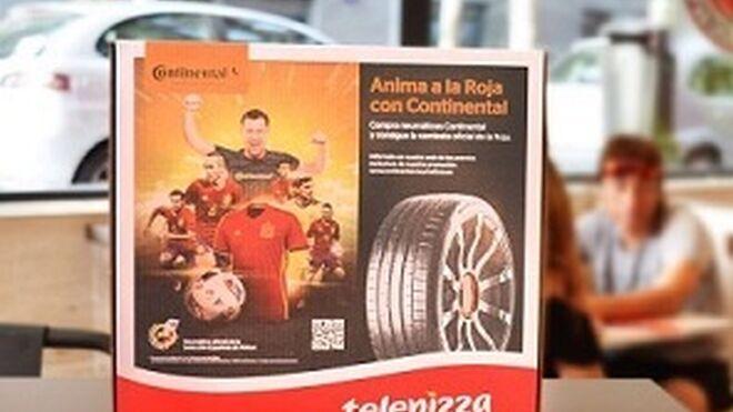 Continental llegará a 4 millones de clientes gracias a Telepizza