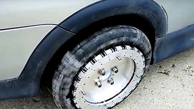 Crean ruedas omnidireccionales que giran en cualquier sentido