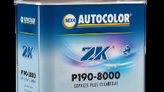 Nuevo barniz de secado ultra rápido Express Plus P190-8000 de Nexa Autocolor