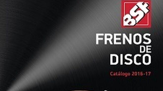 BSF Automoción publica su catálogo de frenos de disco 2016-2017