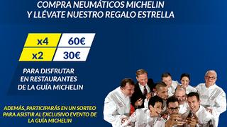 Norauto y Michelin premian con cheques de hasta 60 euros