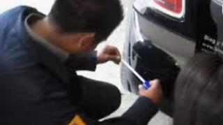 Cómo instalar un asistente de aparcamiento