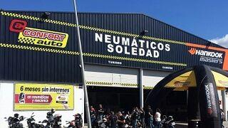 Neumáticos Soledad abre un Confortauto en la isla de Mallorca