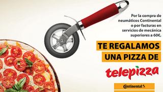 Best Drive regala pizzas por la compra de neumáticos Continental