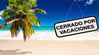 Agosto: ¿Abierto por vacaciones?