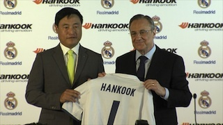 Hankook entona el ¡Hala Madrid!