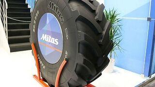 Nuevo neumático para palas cargadoras agrícolas de Mitas