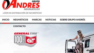 Grupo Andrés presenta su nueva web corporativa