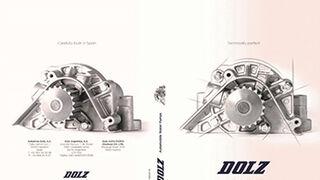El nuevo catálogo de bombas de agua para turismos de Dolz, en Automechanika