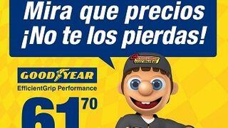 Confortauto ofrece precios especiales en neumáticos Goodyear