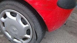 Detenido por causar daños en vehículos de su antiguo taller