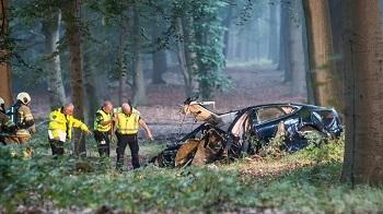 El accidente tuvo lugar en la ciudad de Baarn (Países Bajos).