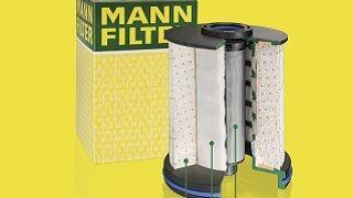 Nuevos filtros diésel con separación de agua en tres etapas de Mann