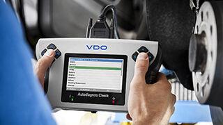 VDO Autodiagnos Check, nueva unidad de autodiagnosis de Continental
