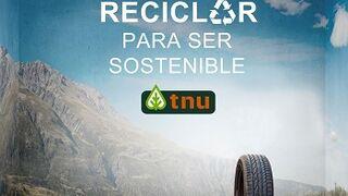TNU recogió en 2015 más de 61.000 toneladas de neumáticos fuera de uso