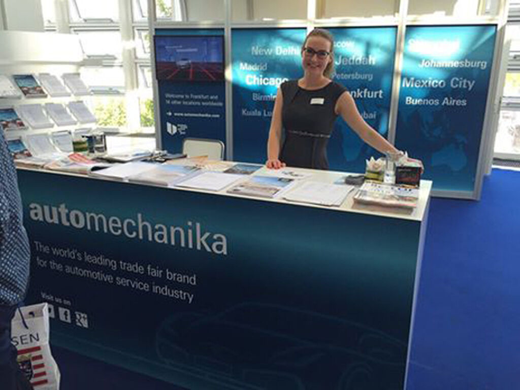Automechanika Frankfurt 2016 ha acogido a expositores de 76 países.